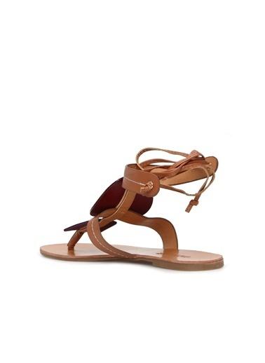 Divarese Divarese 5024303 Camel Kadın Sandalet Camel